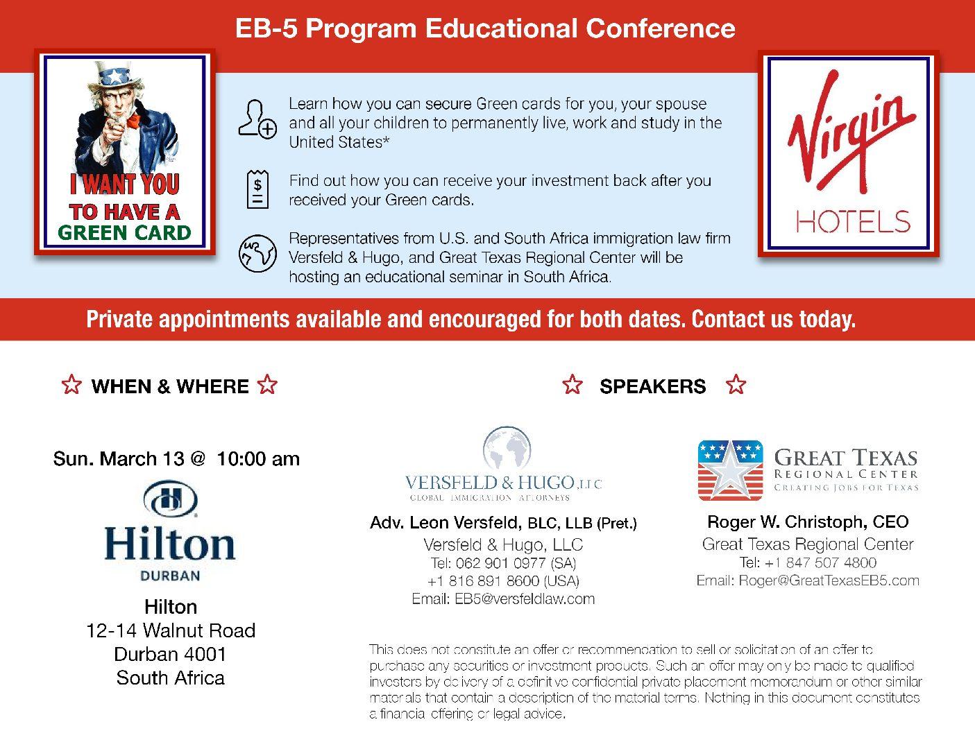 EB-5 Program Educational Conference