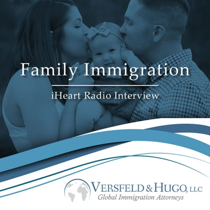 iHeart Radio Interview/Family Immigration -#Immigrate2AmericaEp25