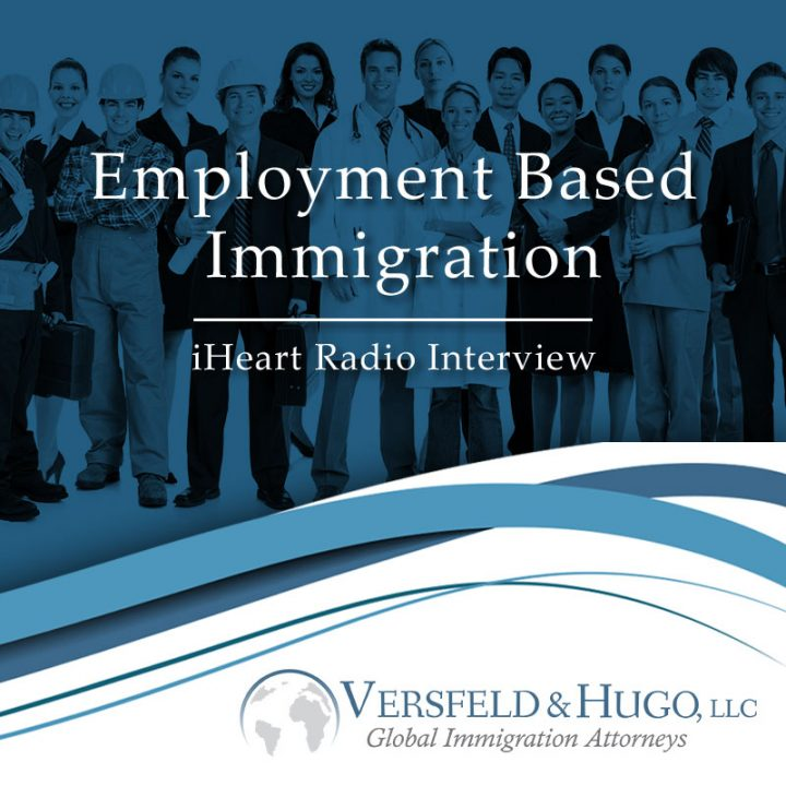 IHeart Radio Interview Employment Based Immigration – #Immigrate2America